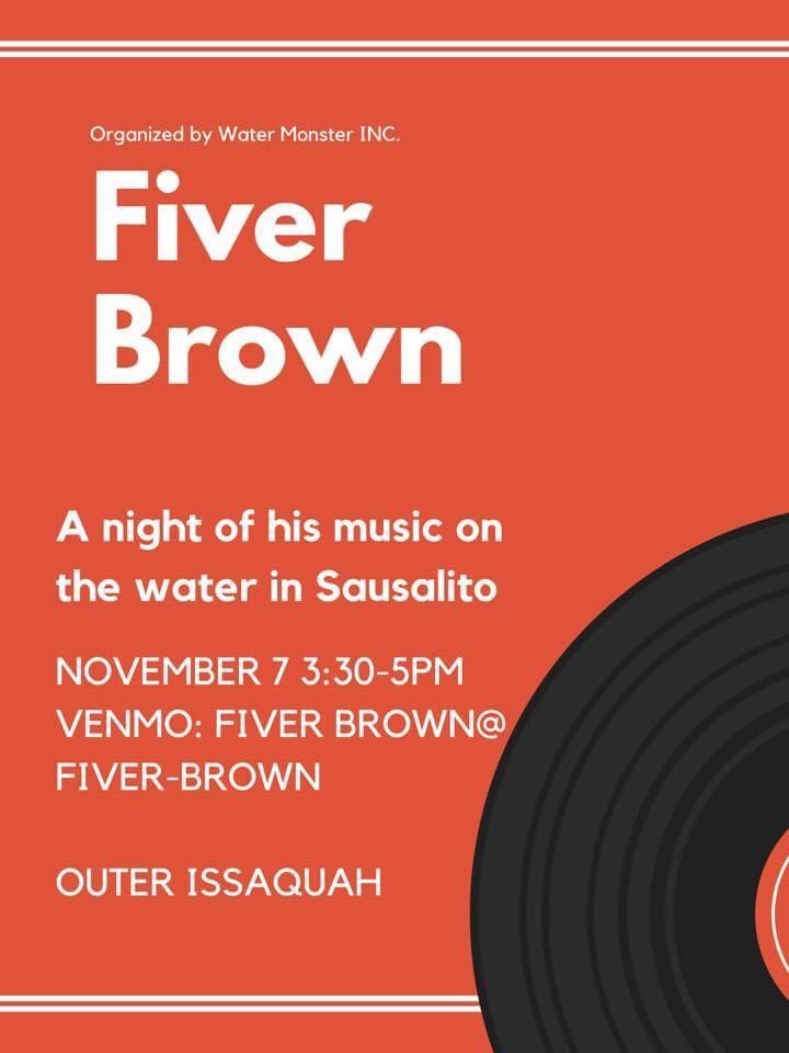 Fiver Brown Poster