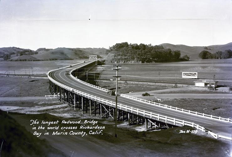 Richardson Bay Bridge Milestones