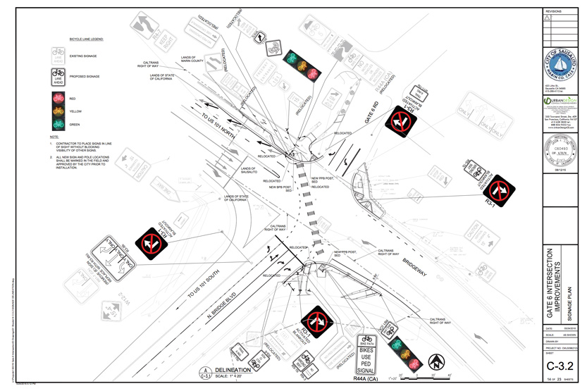 Gate Six Intersection Safety Improvements Delayed