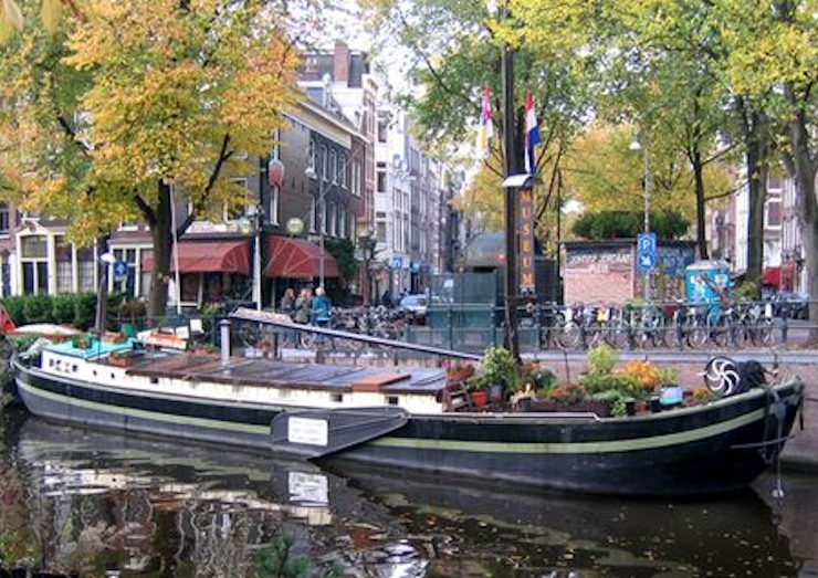 The Houseboats of Amsterdam