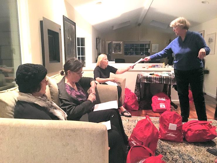 Emergency Backpacks Distributed at Get Ready FHA Meetings