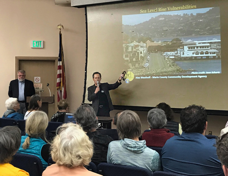 The Challenge of Sea Level Rise in Sausalito
