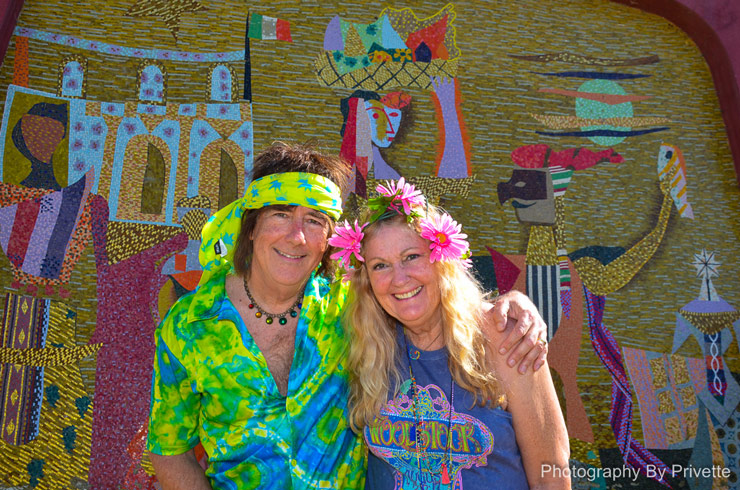 Peace Love & Support for the Varda Mosaic