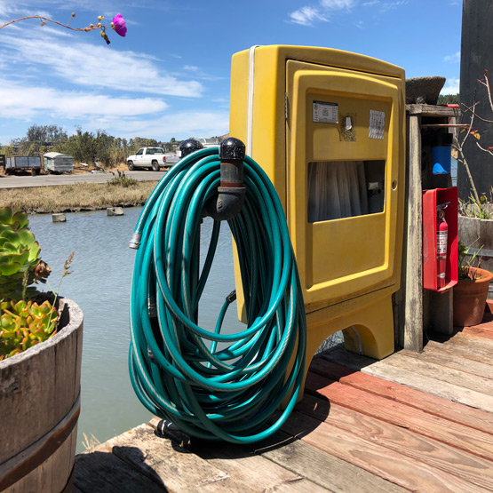 Fire Safety – Clear Dock Obstructions