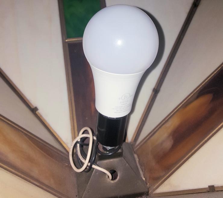 Battery Backup Lightbulbs