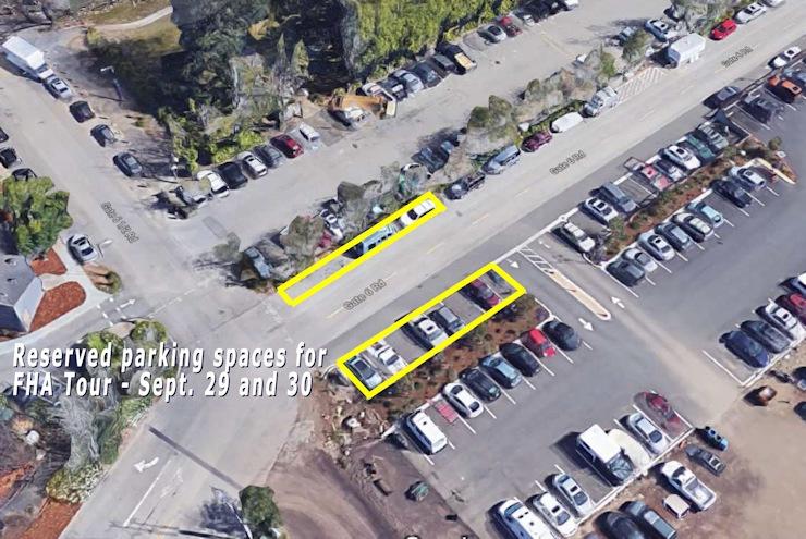 Reminder: Parking on Gate 6 Road