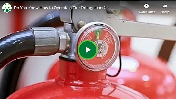 Fire Extinguisher Tips