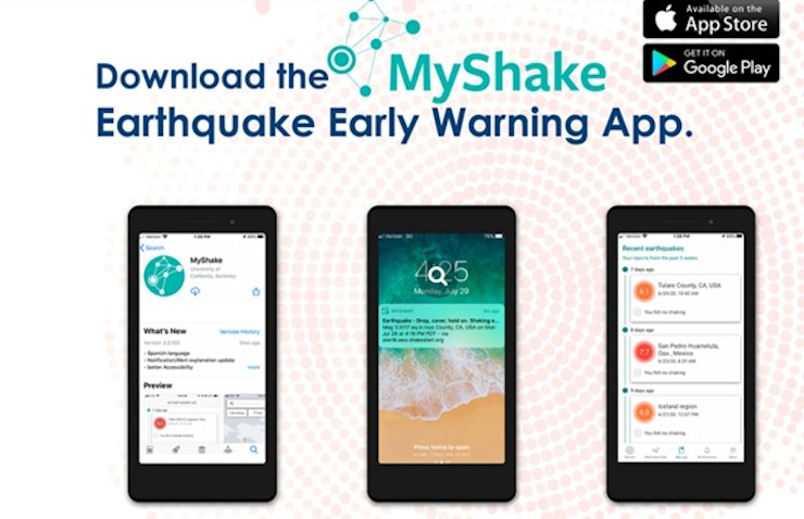 New Earthquake Alert Available