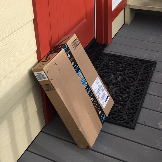 Foil Porch Piracy  |  Get Deliveries to Your Door